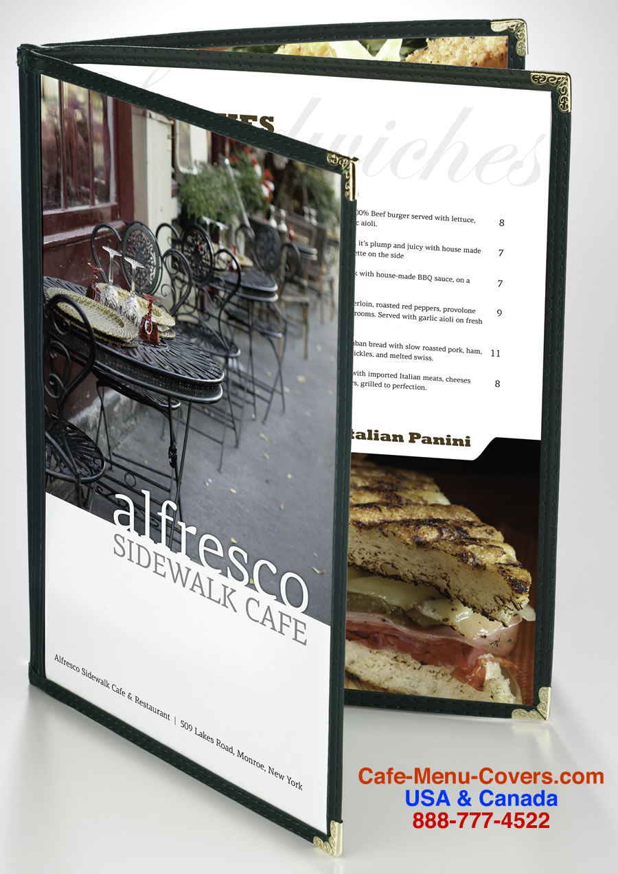 The Six Cafe And Restaurant Menu