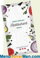 Water proof menus for your restaurant.