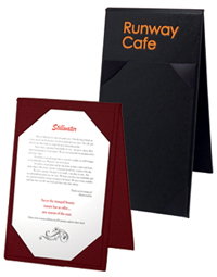 Restaurant Made In USA Table Tents