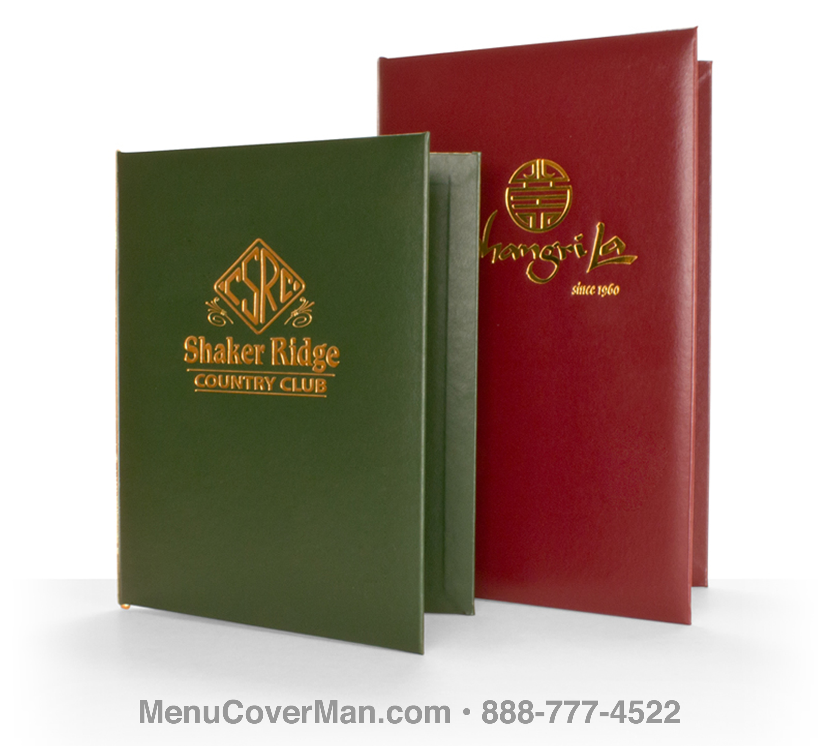 Augusta Menu Covers Frontspiece.