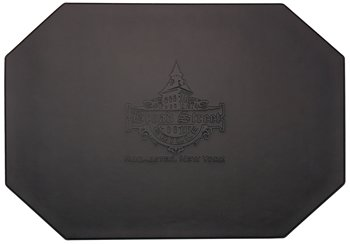 Restaurant placemats add a touch of class to your catering or restaurant operation.