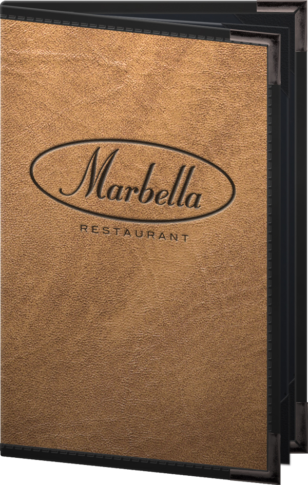 seville deluxe menu covers