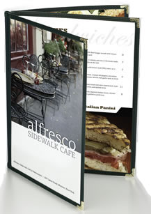 Simplicity BoxSTOCK menu covers are the lowest priced menu covers sold in North America.
