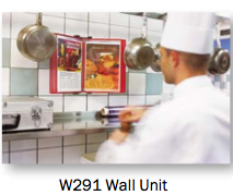 Tarifold W291 for chef's access to recipes.